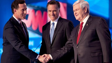 gty santorum romney gingrich debate thg 120119 wblog Arizona Primary Could Push Republicans Back to the Right on Immigration