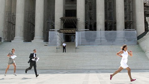 gty sc reporters run dm 120628 wblog Supreme Court Health Care Decision: Obamacare Live Blog