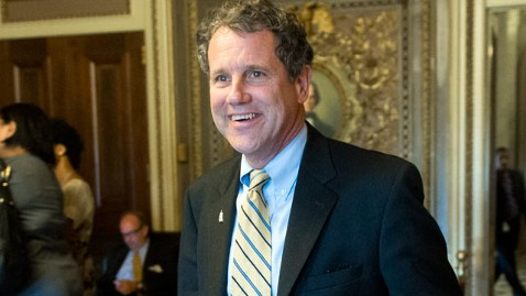 gty sherrod brown jef 120705 wblog How a Senate Liberal Found Popularity in Purple Ohio