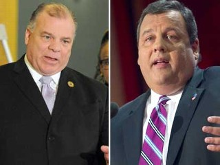 "PHOTO: Democratic State Senate President Steve Sweeney claimed Chris Christie ""prayed and got lucky"" that Hurricane Sandy slammed into his state in order to drive attention away from his economic ..."