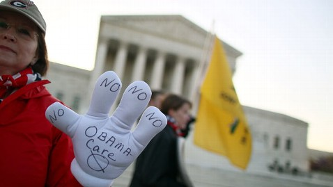 gty supreme court healthcare jef 120327 wblog New Low in Support for Health Law; Half Expect Justices to Go Political