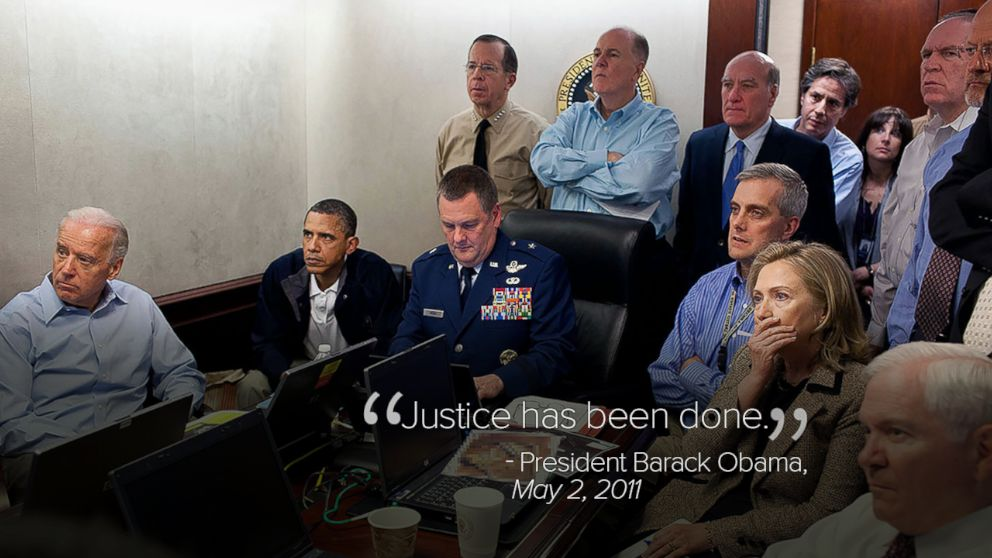 PHOTO: President Barack Obama monitors the mission against Osama bin Laden from the Situation Room at the White House on May 1, 2011.