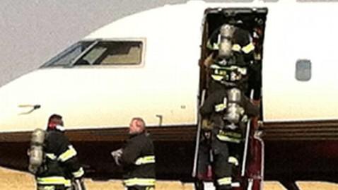 ht ann romney plane nt 120921 wblog Ann Romneys Plane Makes Emergency Landing