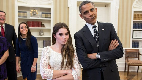 ht barack obama mckayla maroney flickr jt 121117 wblog President Obama and Olympic Gymnast McKayla Maroney Are Not Impressed