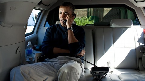 ht barack obama phone 120311 wblog Nightline Daily Line, March 12: U.S. Soldiers Alleged Deadly Rampage