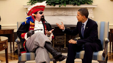ht barack obama pirate nt 120919 wblog Photo of the Day: Caption Contest