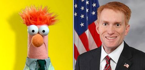 ht beaker lankford muppets nt 120508 wblog Muppet Resembling Members of Congress