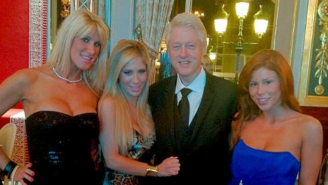 Bill Clinton Poses With Porn Stars