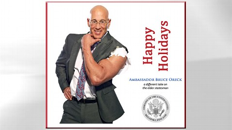 ht bruce oreck jp 121220 wblog US Ambassador Shows Muscle in Holiday Card