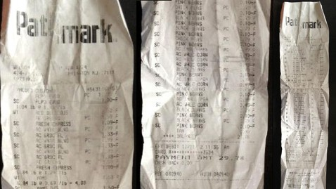 ht cory booker receipt nt 121203 wblog Cory Bookers Food Stamp Challenge Starts With a Grocery Bill