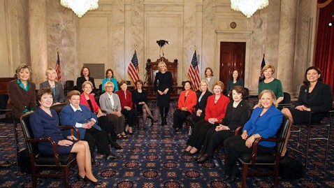 ht diane sawyer senators 2 nt 121211 wblog Female Senators Say Theyd Already Have Fiscal Cliff Solved