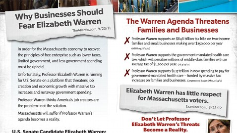 ht elizabeth warren mailer 1 mi 121018 wblog U.S. Chamber of Commerce Calls Elizabeth Warren Catastrophically Antibusiness