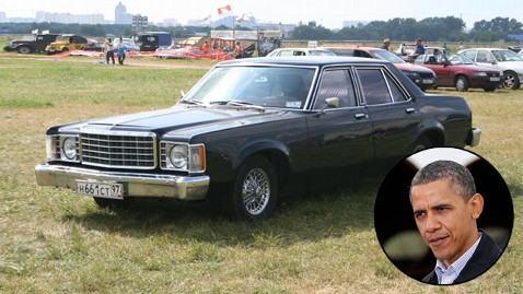 ht ford granada obama nt 120322 wblog Obamas First Ford Rattled and Shook