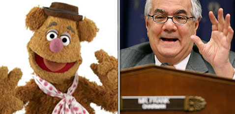 ht fozzy frank muppets nt 120508 wblog Muppet Resembling Members of Congress