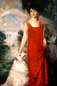 ht grace coolidge portrait ll 120403 vblog Google Art Project and White House Launch 360 Tour of Peoples House