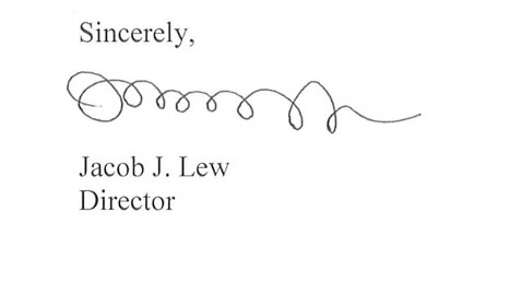 ht jacob lew mi 130109 wblog Likely Treasury Secretary Under Fire for Signature