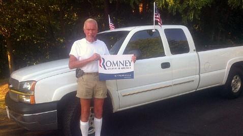 ht jim wilson jp 120627 wblog Romney Campaign Replaces Burned Truck of Super Fan