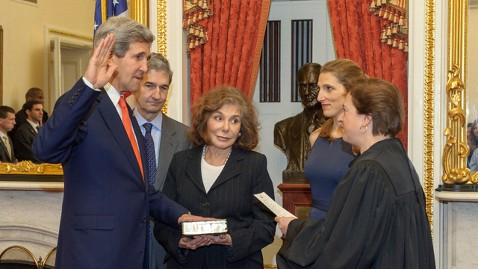 ht john kerry sworn in nt 130201 wblog John Kerry Sworn in as Secretary of State