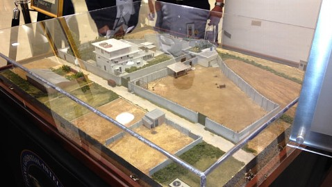 ht laden compound model jp 120516 wblog Osama Bin Laden Compound Model on Display at Pentagon