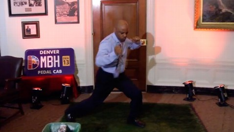 ht mayor denver dancing nt 130130 wblog Denver Mayor Does The Ray Lewis Dance
