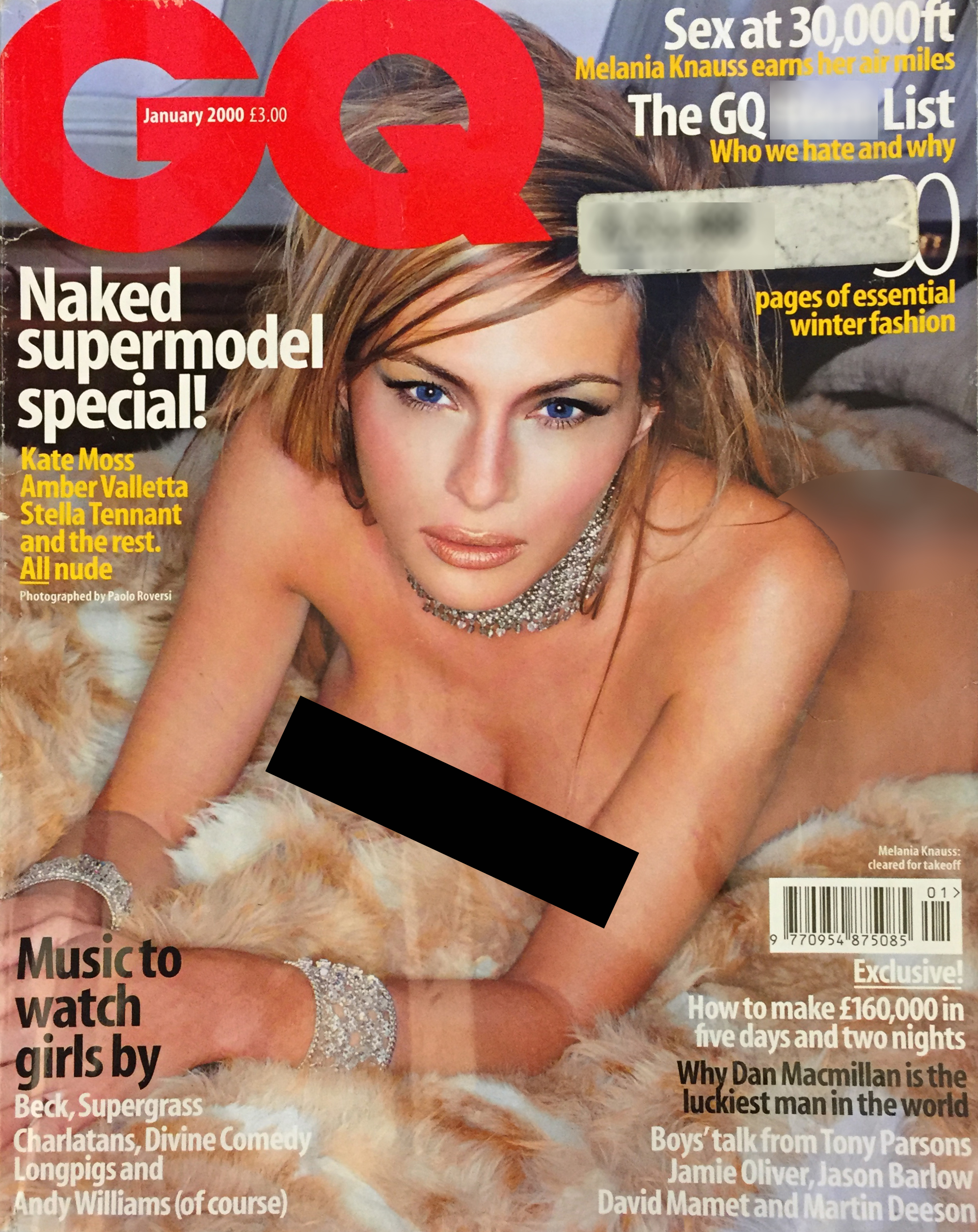 Is trumps wife still posing nude