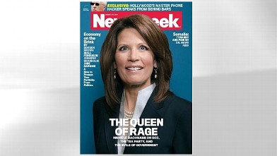 ht michele bachmann newsweek cover jp 110808 wb Newsweek Under Fire for Michele Bachmann Cover Photo