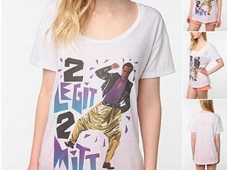 "PHOTO: Urban Outfitters is selling Mitt Romney t-shirts on thei website including this one that says, ""Too Legit to Mitt."""