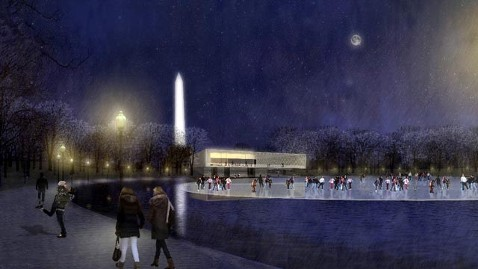 ht national mall drawing jef 120503 wblog National Mall to Get $700 Million Makeover With Help of Laura Bush