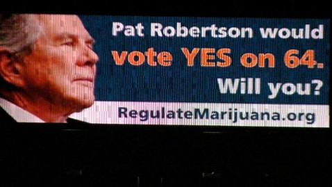 ht night robertson marijuana billboard lpl 120716 wblog Pro Pot Activists Put Pat Robertson on Marijuana Billboard
