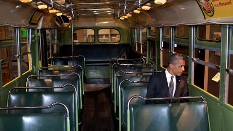 ht obama rosa park jp 120419 wblog Obama Sits, Reflects on Rosa Parks Bus