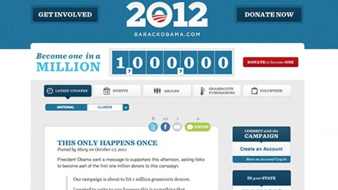 ht one millionth donor grab tk 111017 wblog Obama Campaign Tops One Million Donors