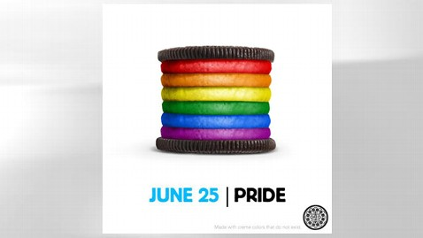 ht oreo pride mr 120626 wblog Oreo Pride: Rainbow Stuffed Cookie Sparks Threats of Boycott