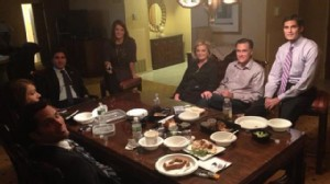 ht pre debate dinner mitt nt 121016 wn Second Presidential Debate   Live Blog and Fact Check