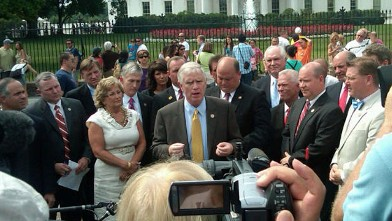 ht republicans whitehouse jef 110719 wb GOP Freshmen Come To White House Demanding Obamas Deficit Reduction Plan