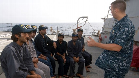 ht rescued mariners nt 120809 wblog U.S. Navy Rescues 10 From Iranian Ship on Fire