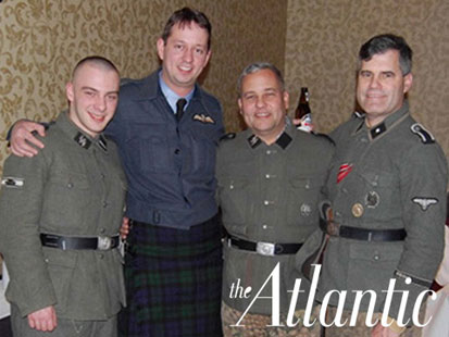 prince william nazi uniform. wearing a Nazi uniform,