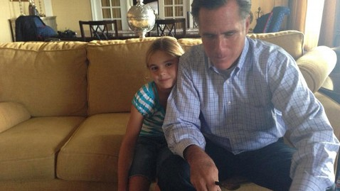 ht romney mia tk 121003 wblog The Romneys Play Jenga: Mitts Debate Prep in Photos