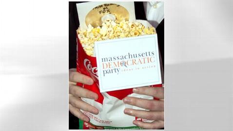 ht romney popcorn nt 111130 wblog Gleeful Dems Send Popcorn, DVD to Romney HQ