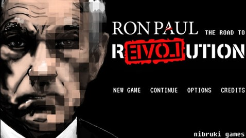 ht ron paul video game thg 120419 wblog End the Fed: Ron Paul Video Game in the Works