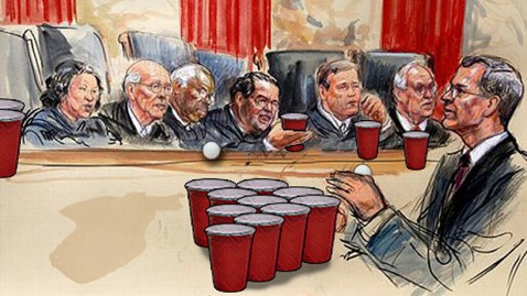 ht scotus beer pong tk 120328 wblog Nightline Daily Line, March 28: Mega Millions Hits $500M
