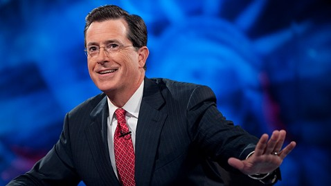 ht stephen colbert superpac ll 111018 wblog The Colbert Report to Resume Taping