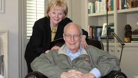 ht twitter dick cheney lynne cheney jt 120403 wblog Dick Cheney Released from Hospital After Heart Transplant Surgery