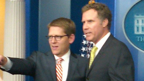 ht will ferrell jef 111021 wblog Ron Burgundy Meets The Press