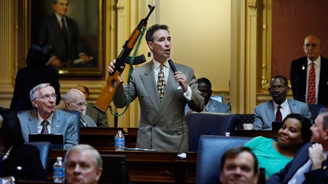 rtd del joe morrissey AK47 lpl 130118 wblog Virginia Lawmaker Brandishes AK 47 on House Floor