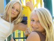 Also known Three blonde