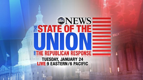 abc sotu 120123 wblog ABC News Announces Special Coverage for the State of the Union Address