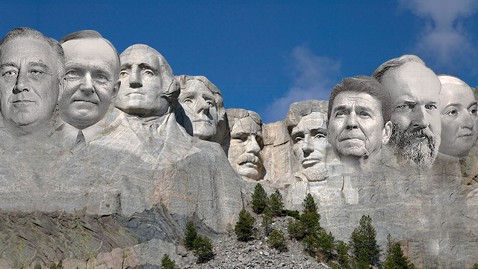 Visions of Presidential Candidates: Mt. Rushmore Reimagined ...