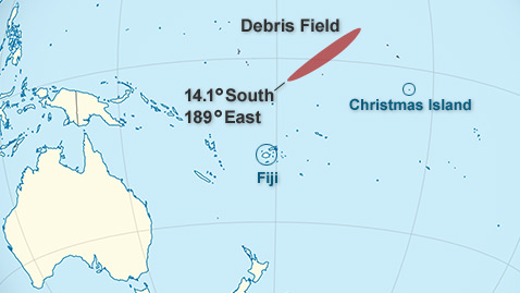 nasa uars satellite 110928 wblog NASA UARS Satellite Crash Site: Near Christmas Island in Pacific