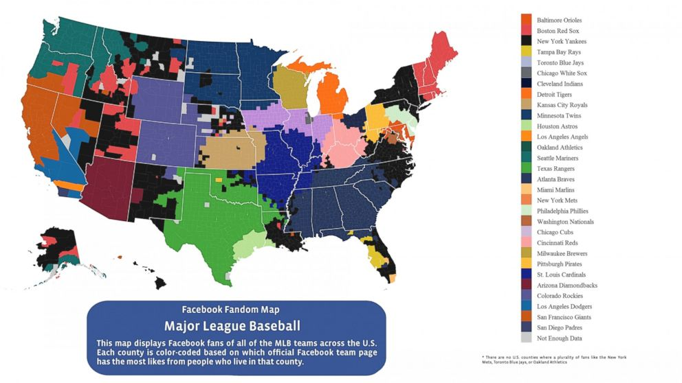 Which Mlb Teams Overperform In Popularity Fivethirtyeight: Map Of Usa With Mlb Cities At Usa Maps