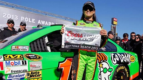 ap danica patrick ll 130218 wblog Danica Patrick Points to Hard Work(outs) in Daytona 500